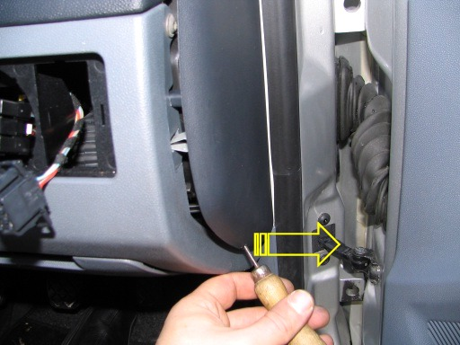 fabia evap temp sensor - how to  with pics